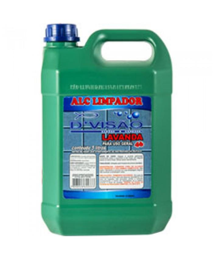 ALCOOL LIMPADOR 46 LAVANDA 5 LTS