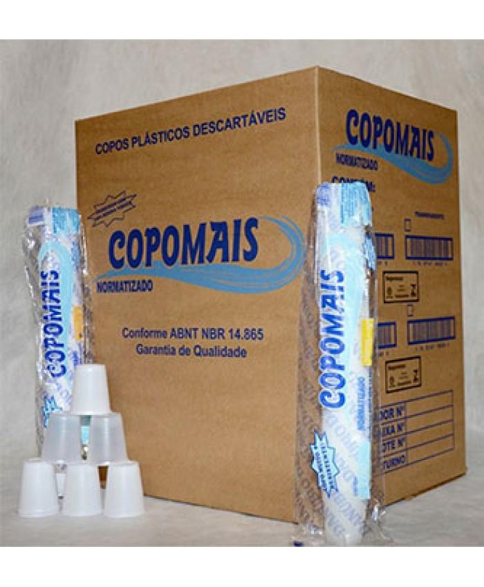 COPO PLAST.DESCART. 080 ML CPM PCT
