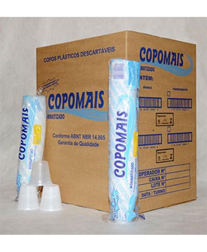 COPO PLAST.DESCART. 150 ML PCT C/100